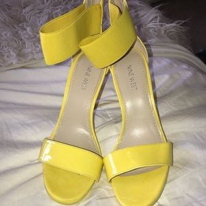 Yellow Stilettos Brand New